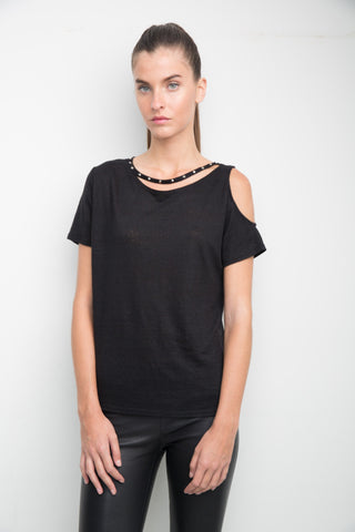 Cory Cut Out Tee