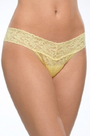 Low Rise Thong - Canary