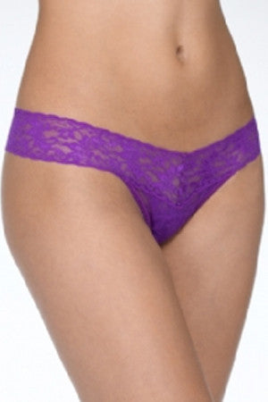 Low Rise Thong - Twilight Purple
