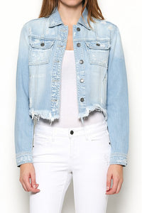 Destructed Denim Jacket