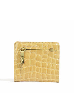 Gia Mini Wallet - Croco Patent