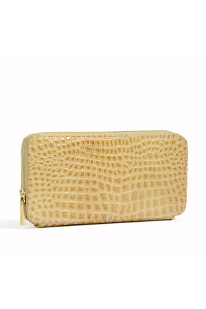 Lucy Wallet - Croco Patent
