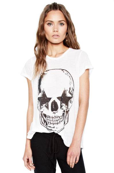 Briley Skull Open Back tee