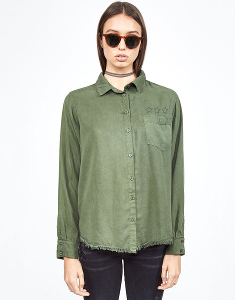Sloane Flying Eagle Button Down Shirt