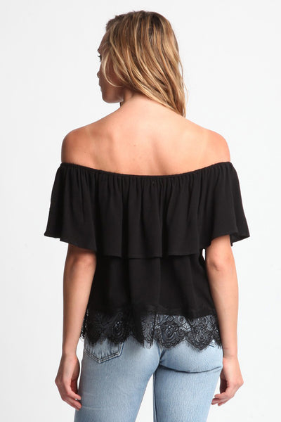Evander Off Shoulder