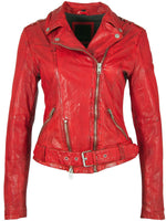 Load image into Gallery viewer, Moto Leather Jacket