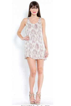 Racer Ikat Bead Dress