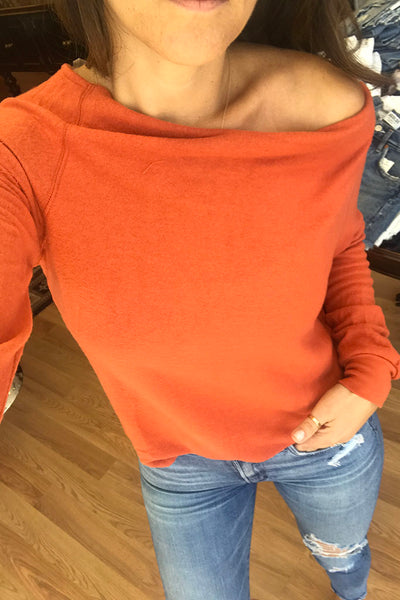 Cozy Wide Neck Top
