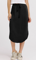 Load image into Gallery viewer, Brenna Cotton Fleece Skirt