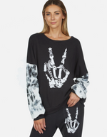 Load image into Gallery viewer, Cordella Skeleton Sweatshirt