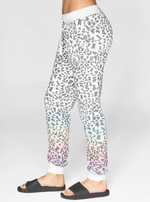 Load image into Gallery viewer, Rainbow Leopard Sweatpant