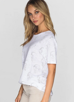 Load image into Gallery viewer, Faded Star Skull Tee