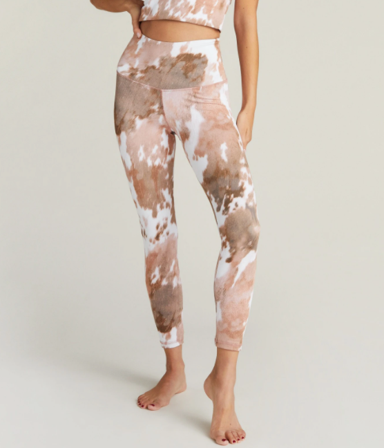 CowHide High Rise Legging