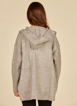 Load image into Gallery viewer, Hood Double Face Cardi Jacket