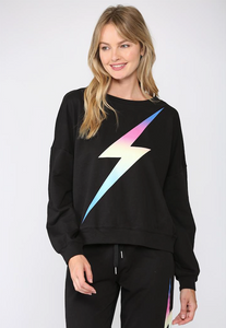 Multi Lightning Bolt Sweatshirt