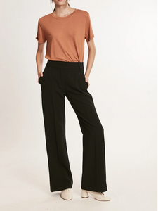 Zoey High Waist Wideleg Pant