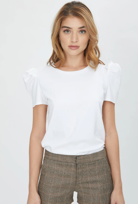 Starla Puff Short Sleeve Top
