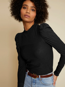 Zahara Mock Neck Top