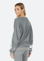 Load image into Gallery viewer, Flora Bone Diamond Sweatshirt