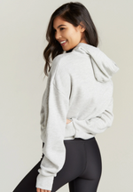 Load image into Gallery viewer, Pippa Crop Hooded Sweatshirt