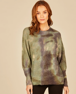 Tie Dye Army Sweater