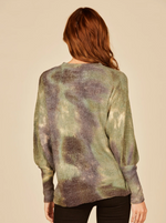 Load image into Gallery viewer, Tie Dye Army Sweater