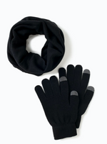 Load image into Gallery viewer, Antimicrobial Neck Warmer and Glove Set