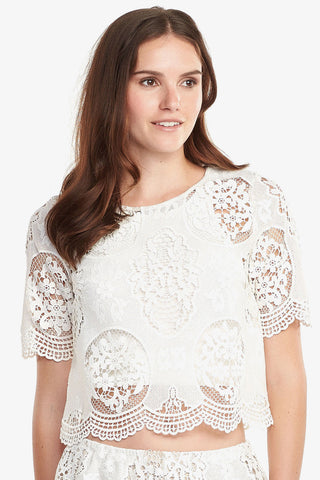 Louisa Lace Top