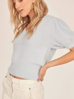 Load image into Gallery viewer, Alina Puff Sleeve Sweater