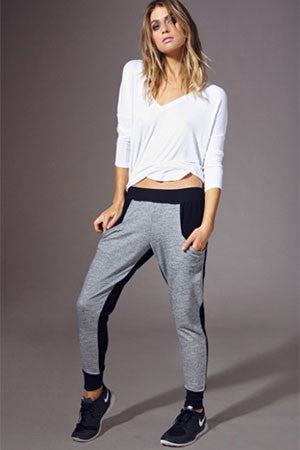 Contrast Sweatpants