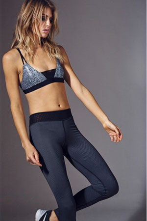 Reversible Diamond Legging