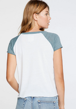 Load image into Gallery viewer, Short Sleeve Baseball Raglan