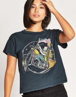 Load image into Gallery viewer, Keep on Rollin' Girlfriend Tee