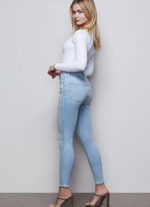 Load image into Gallery viewer, Good Waist Crop Skinny Jean