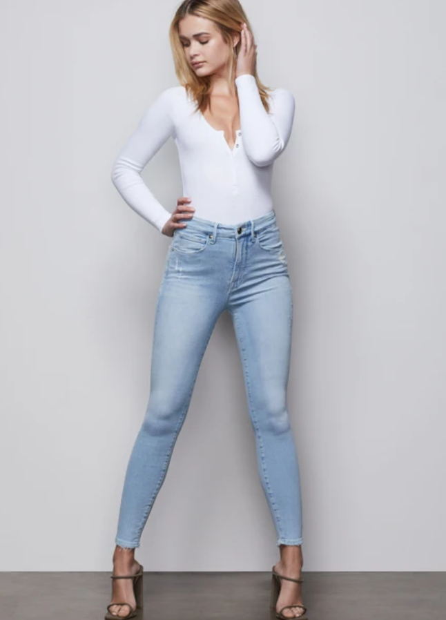 Good Waist Crop Skinny Jean