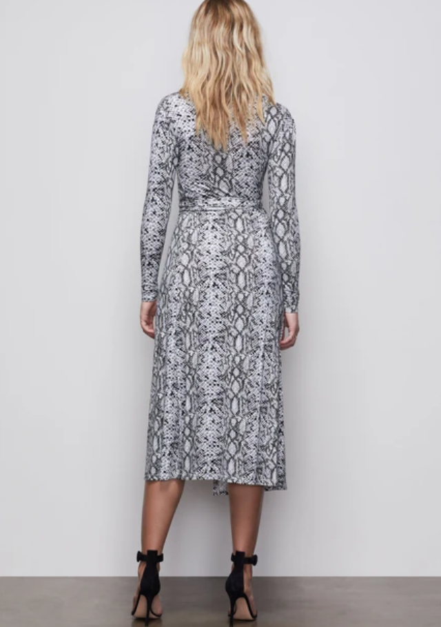 Python Wrap Dress