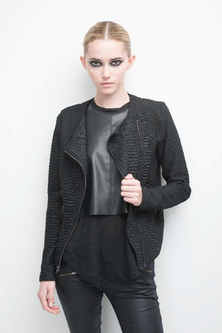 Dakota Snake Zip Jacket