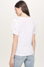Load image into Gallery viewer, Mutton Puff Sleeve Tee