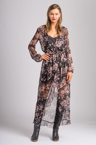 Eve Cross Over Maxi Dress