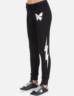 Load image into Gallery viewer, Jess Butterfly Lightning Sweat Pant