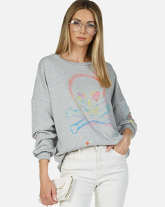 Sierra Spray Skull Sweatshirt
