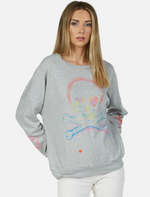 Load image into Gallery viewer, Sierra Spray Skull Sweatshirt
