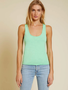 Courtney Raw Racerback Tank