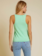 Load image into Gallery viewer, Courtney Raw Racerback Tank