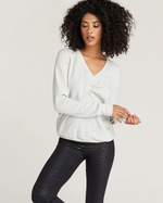 Load image into Gallery viewer, Napa V Neck Sweatshirt