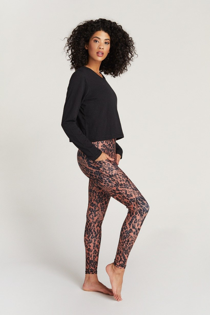 Cheetah Print Ankle Legging