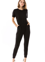 Load image into Gallery viewer, Short Sleeve Jumpsuit