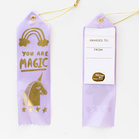 You Are Magic - Award Ribbon Card