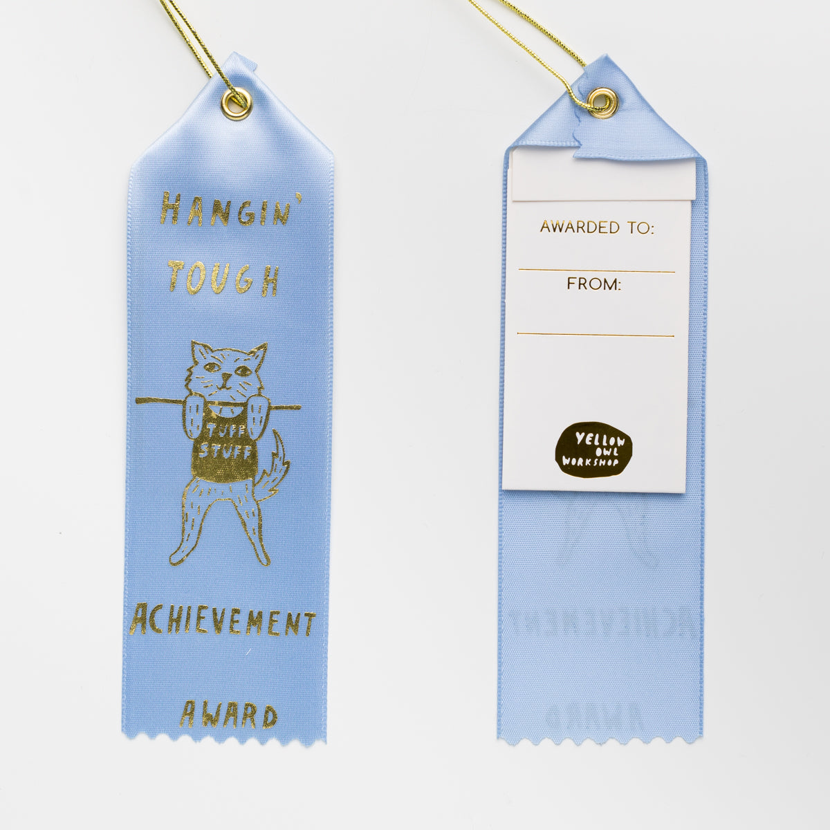 Hangin' Tough - Award Ribbon Card