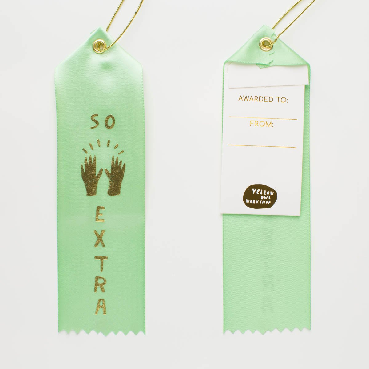 So Extra - Award Ribbon Card